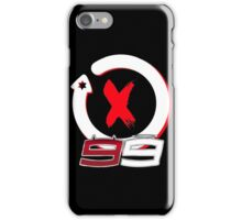 Jorge Lorenzo, devil angel 99 logo iPhone Case/Skin