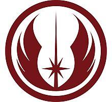 Jedi Order Symbol Photographic Print