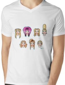 Wig in a Box Mens V-Neck T-Shirt
