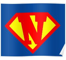Super N Poster