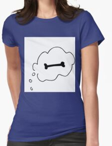 Bone Bubbles Womens Fitted T-Shirt