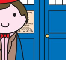 The 11th Doctor Sticker