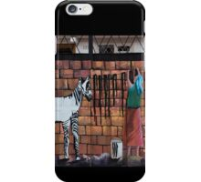 Wash Day For Zebras iPhone Case/Skin