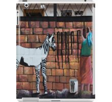 Wash Day For Zebras iPad Case/Skin
