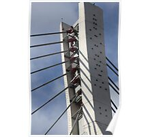 pylon cable-stayed bridge Poster
