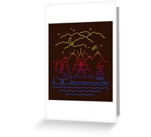 Always Camping Greeting Card