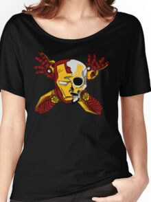 Iron Skull. Women's Relaxed Fit T-Shirt