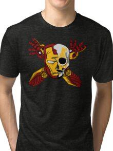 Iron Skull. Tri-blend T-Shirt