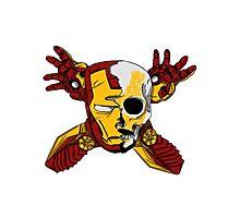 Iron Skull. Photographic Print
