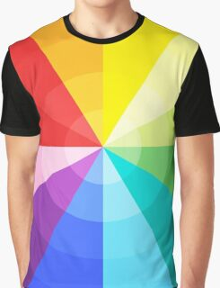 Colourful waves Graphic T-Shirt