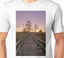 Sunset at Denbigh Pier Unisex T-Shirt