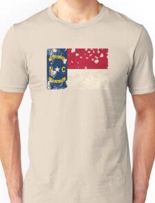 North Carolina Splatter Unisex T-Shirt