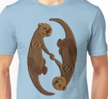 Kawaii Sleeping Otters Unisex T-Shirt