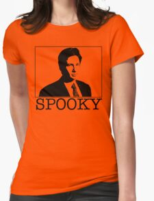 Spooky Mulder Womens Fitted T-Shirt