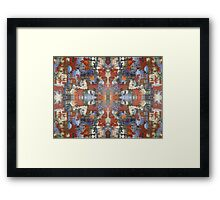 ABSTRACT 725 Framed Print