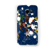 North Dakota Splatter Samsung Galaxy Case/Skin