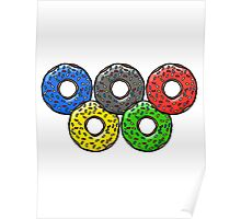 Olympic Donuts - Unofficial Non Competitors Uniform 2016 Poster