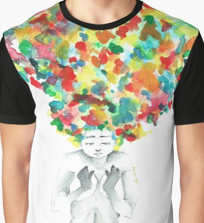 A little bit of darkness in so many colors Graphic T-Shirt