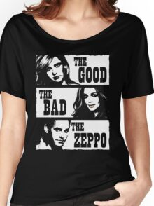 The Good The Bad The Zeppo Women's Relaxed Fit T-Shirt