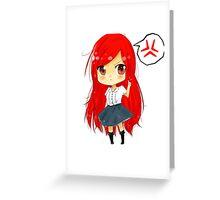 Erza chibi Greeting Card