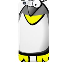 Silly penguin iPhone Case/Skin