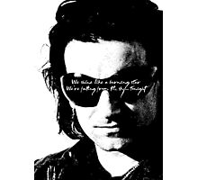 U2 the fly glasses Photographic Print