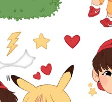 Taekook x Pokémon Sticker Pack (best suitable for medium and large sizes) Sticker