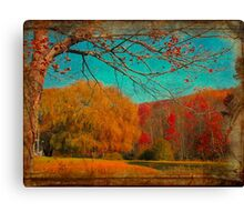 Autumn Glory Canvas Print