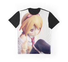 Scientific anime/manga girl Graphic T-Shirt