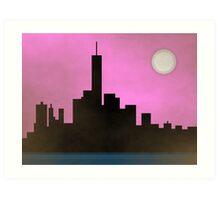 New York City Skyline Art Print