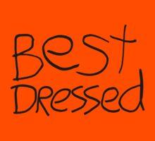 Best Dressed Kids Tee