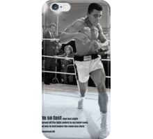 Muhammad Ali Poster iPhone Case/Skin