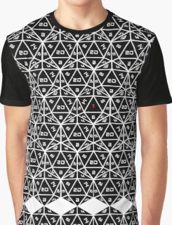 Fate is a 20 sided Die Graphic T-Shirt