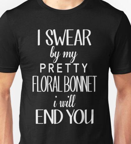 floral bonnet Unisex T-Shirt