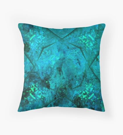 Abstract 1F Throw Pillow