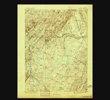 USGS TOPO Map New Jersey NJ Morristown 255268 1888 62500 Unisex T-Shirt
