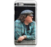 The steam railway machinist iPhone Case/Skin