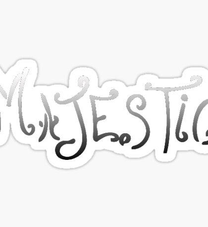 Majestic Sticker