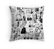 Tsukishima Kei Collage Throw Pillow