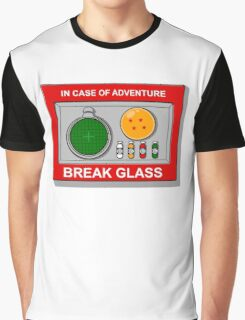 In case of Adventure Graphic T-Shirt