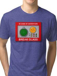 In case of Adventure Tri-blend T-Shirt