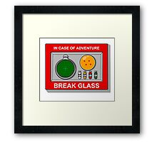 In case of Adventure Framed Print