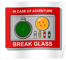 In case of Adventure Poster