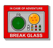 In case of Adventure Photographic Print