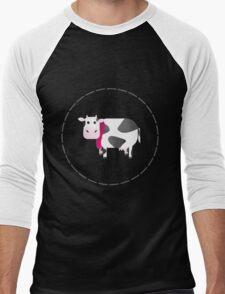 Udderly Fabulous - Punny Farm Men's Baseball ¾ T-Shirt