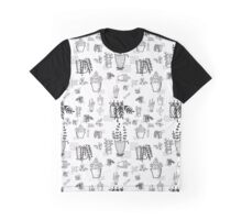 ::Potted Plants- White BG- pattern:: Graphic T-Shirt
