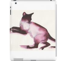 Inky Cat 11 iPad Case/Skin