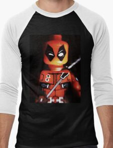 Jimichangas Men's Baseball ¾ T-Shirt