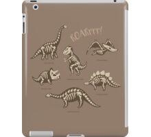 Dinosaur skeletons iPad Case/Skin