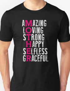 Loving strong T-Shirt, Mothers Day Gift, Mothers Saying Quotes T-Shirt